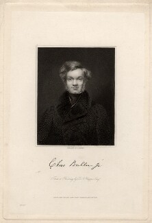 Charles Buller, by Edward Scriven, after  Bryan Edward Duppa - NPG D1135