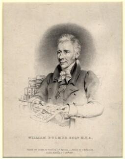 William Bulmer, by James Ramsay - NPG D1137