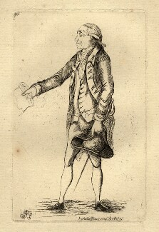 John Burgoyne, by James Sayers, published by  Charles Bretherton - NPG D1146