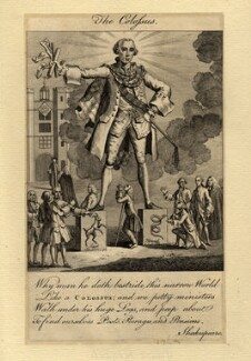 John Stuart, 3rd Earl of Bute ('The Colossus'), after Unknown artist - NPG D1152