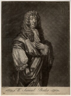 Samuel Butler, after Gilbert Soest - NPG D1154