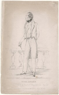 George Gordon Byron, 6th Baron Byron, published by Henry Colburn, after  Alfred, Count D'Orsay - NPG D46291