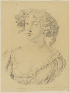 Jane (née Bickerton), Duchess of Norfolk, by George Perfect Harding - NPG D1169
