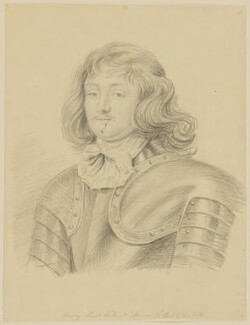 Henry Wilmot, 1st Earl of Rochester, by George Perfect Harding - NPG D1173