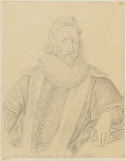 Sir Francis Windebank, by George Perfect Harding - NPG D1176