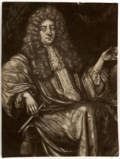 Hadriaan (Adrian) Beverland, by Pieter Schenck, after  G.D. Vois - NPG D1178