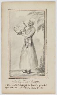 Reverend Aaron, after George Vertue - NPG D1180