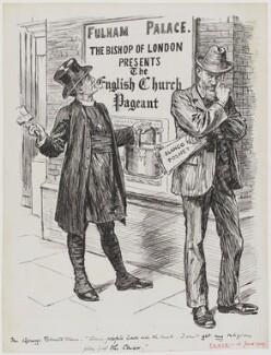 Arthur Foley Winnington-Ingram; George Bernard Shaw, by Bernard Partridge - NPG D1181
