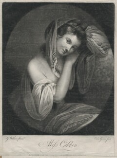 Miss Cabben, by Valentine Green, printed for  Robert Sayer, after  George Willison - NPG D1182