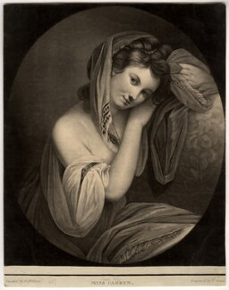 Miss Cabben, by Valentine Green, after  George Willison - NPG D1183