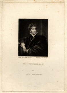 Thomas Campbell, by Samuel William Reynolds, after  Thomas Phillips - NPG D1203