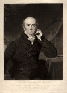 George Canning, by Charles Turner, after  Sir Thomas Lawrence - NPG D1207