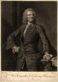 Mr Caveller, by John Faber Jr, after  James Cranke - NPG D1221