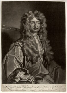 John Vaughan, 3rd Earl of Carbery, by John Simon, after  Sir Godfrey Kneller, Bt - NPG D1223