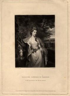 Margaret Caroline (née Leveson-Gower), Countess of Carlisle, by Samuel William Reynolds, after  Sir Joshua Reynolds - NPG D1230
