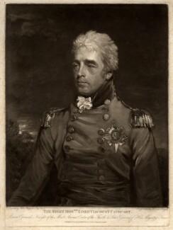 William Schaw Cathcart, 1st Earl Cathcart, by Henry Meyer, after  John Hoppner - NPG D1235