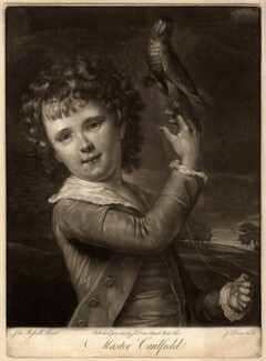 William Caulfield, by John Dean, after  John Russell - NPG D1236