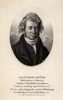 André Marie Ampère, by Ambrose Tardieu, 1825 - NPG D1241 - © National Portrait Gallery, London