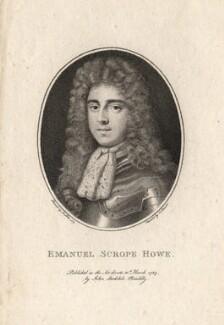 Emanuel Scrope Howe, by Charles Sherwin, after  Sir Peter Lely - NPG D1252
