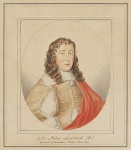 Sir John Lenthall, possibly by Silvester (Sylvester) Harding, after  Unknown artist - NPG D126