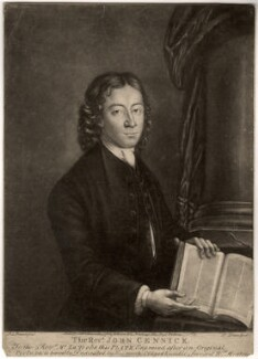 John Cennick, by Philip Dawe, after  A.L. Brandt - NPG D1261