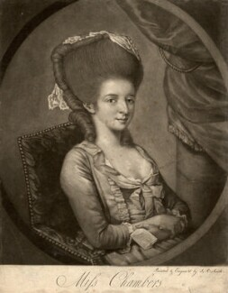 Miss Chambers, by John Raphael Smith - NPG D1262