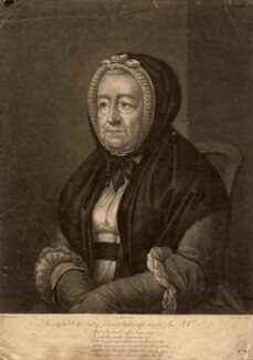 Mary Chelsum (née Ward), by William Pether, after  S. Elmer - NPG D1265
