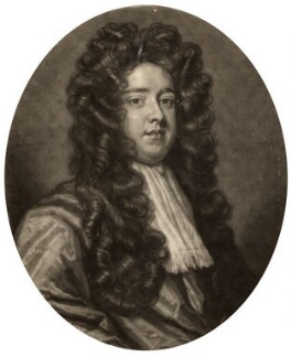 Robert Cecil, by John Smith, after  Sir Godfrey Kneller, Bt - NPG D1267