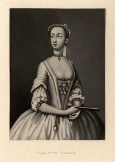Charlotte Charke (née Cibber), after Unknown artist - NPG D1277