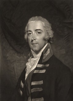 John Pitt, 2nd Earl of Chatham, by Valentine Green, after  John Hoppner - NPG D1283