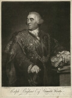 Ralph Bigland, by Charles Townley, after  Richard Brompton - NPG D1298