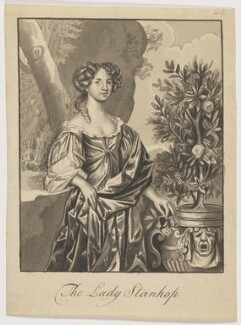 Katherine Stanhope (née Wotton), Countess of Chesterfield, by Harding - NPG D13