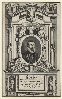 John Donne, by Matthäus Merian the Younger - NPG D1307
