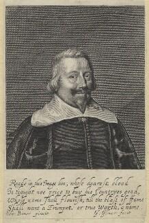 John Pym, by George Glover, after  Edward Bower - NPG D1315