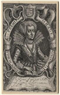 Lady Arabella Stuart, by John Whittakers Sr, 1619 - NPG D1318 - © National Portrait Gallery, London