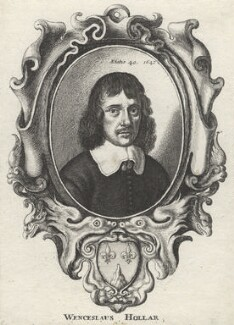 Wenceslaus Hollar, by Wenceslaus Hollar - NPG D1324
