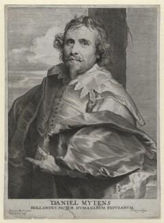 Daniel Mytens, by Paulus Pontius (Paulus Du Pont), after  Sir Anthony van Dyck - NPG D1325