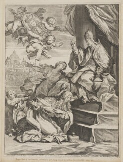 Roger Palmer, Earl of Castlemaine, by Arnold van Westerhout, after  Giovanni Battista Lenardi, 1688 - NPG D1328 - © National Portrait Gallery, London