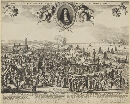 Departure from Holland to England (King Charles II), by Pieter Hendricksz Schut - NPG D1329