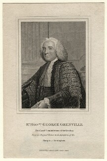 George Grenville, by G. Walker, after  Sir Joshua Reynolds - NPG D1330