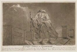 Simon Fraser, 11th Lord Lovat ('Lovat's Ghost on Pilgrimage'), by Samuel Ireland - NPG D1346