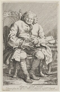 Simon Fraser, 11th Baron Lovat, by William Hogarth - NPG D1347