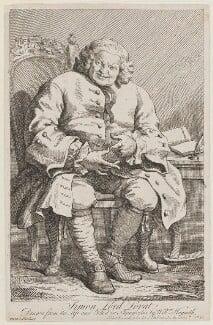Simon Fraser, 11th Lord Lovat, by William Hogarth - NPG D1347