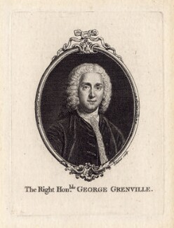 George Grenville, by François-Germain Aliamet, after  William Hoare - NPG D1352