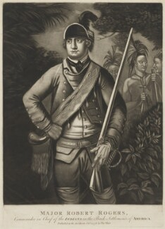 Robert Rogers, published by Thomas Hart - NPG D1354