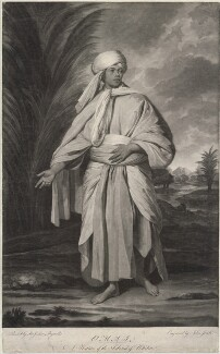 Omai, by Johann Jacobé, after  Sir Joshua Reynolds - NPG D1361