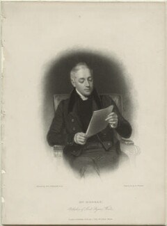 John Samuel Murray, by Edward Francis Finden, published by  Charles Tilt, after  Henry William Pickersgill - NPG D1373