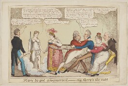How to get Un-married, - Ay, there's the Rub!, by John Lewis Marks - NPG D1386