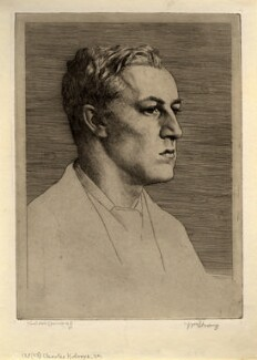 Sir Charles Holroyd, by William Strang - NPG D1394