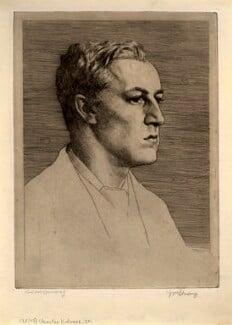 Sir Charles Holroyd, by William Strang, 1887 - NPG D1394 - © National Portrait Gallery, London